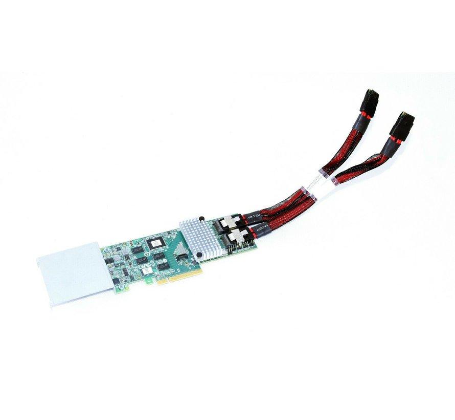 LSI JT6B1JT6B2 D33156 SAS 6GB / S Megaraid 8-Port RAID Controller Card Card