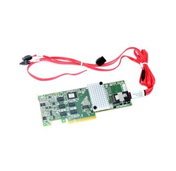 LSI JT6B1JT6B2 D33156 SAS 6Gb / s Tarjeta controladora RAID de 4 puertos Megaraid