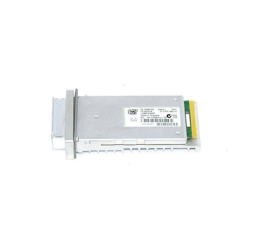 Cisco X2-10GB-SR 10 Gigabit Ethernet Transceiver PN 10-2205-05