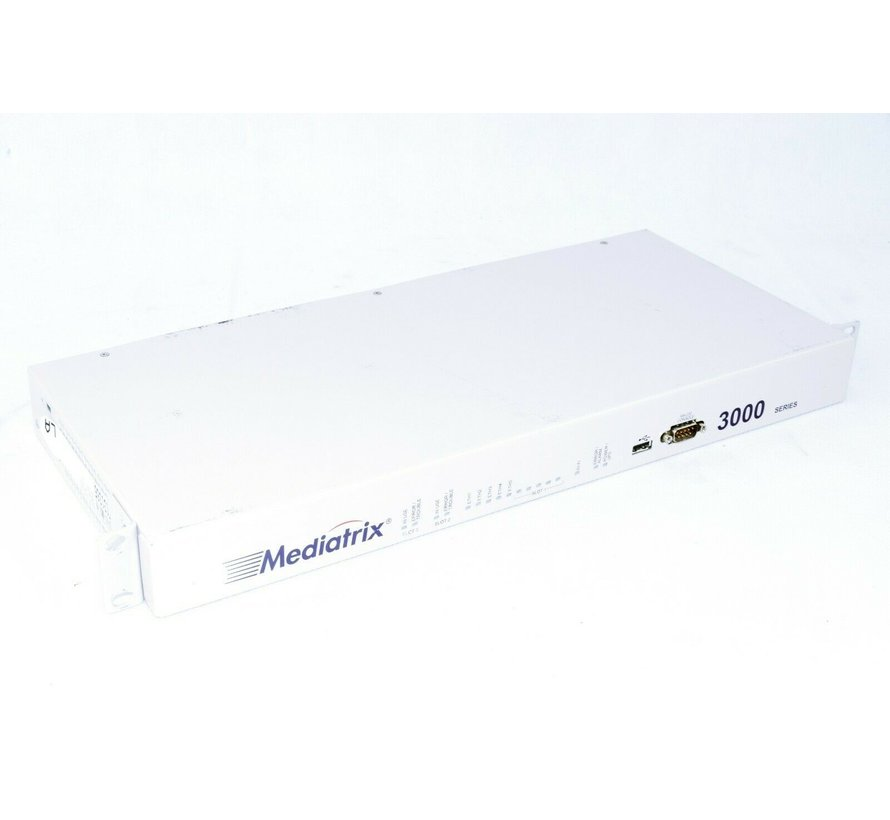 Mediatrix 3000 RS-232 Console Network Switch