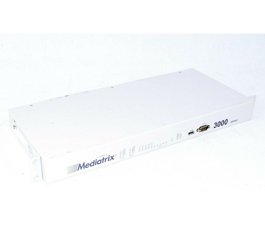 Mediatrix 3000 RS-232-Konsolen-Netzwerk-Switch