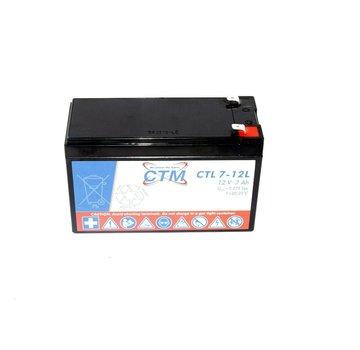 CTM CTL 7-12L Battery 12V 7Ah 040316-LE lead acid battery