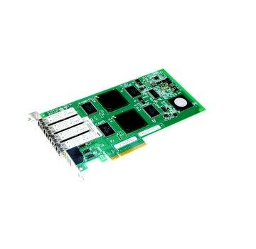 Qlogic PX2610402-05 C QLE2464-NAP 111-00285 + B0 Estación de trabajo de tarjeta de red Exone