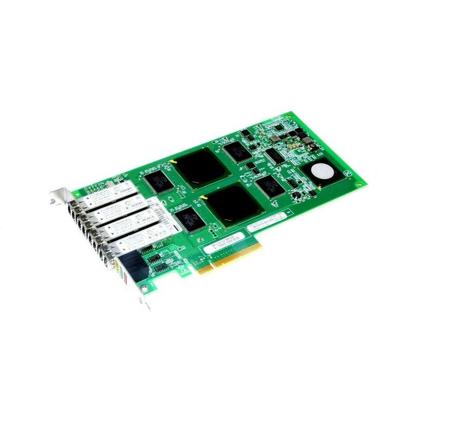 Qlogic PX2610402-05 C QLE2464-NAP 111-00285 + B0 Network Card Workstation Exone