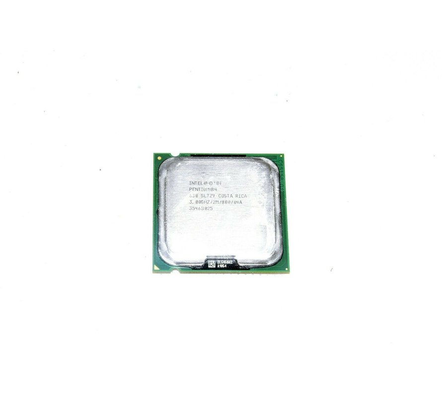 Servidor de memoria RAM Intel Pentium 04 '630 SL7Z9 3.00GHZ / 2M / 800 / 04A