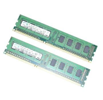 Samsung 4GB (2x2GB) DDR3 RAM Samsung M378B5773CH0-CH9 - 1Rx8 PC3-10600U-09-10-A0