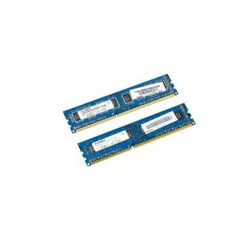 Nanya NT2GC64B8HC0NF-CG 1043.TW 4GB (2x 2GB) 2Rx8 PC3-10600U-9-10-B0. 1333 RAM