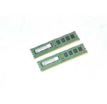 M MT8JTF25664AZ-1G4D1 4GB (2x 2GB) 1Rx8 PC3-10600U-9-10-A0 RAM