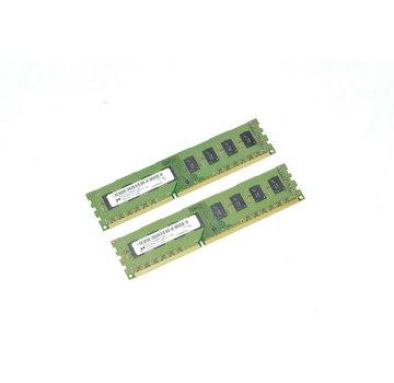 M MT16JTF25664AZ-1G4G1 1220 4GB (2x 2GB) 2Rx8 PC3-10600U-9-11-B0 RAM