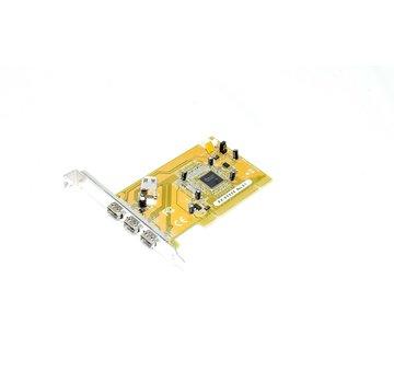 ExSys EX-6500E Rev. G1 PCI Card Firewire Card