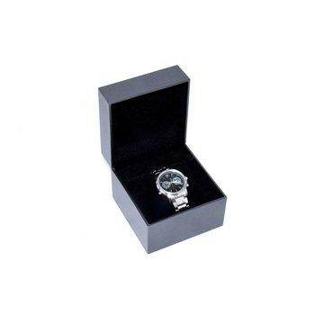 BMW Damen Armbanduhr DAY-DATE Black Edelstahl Silber Watch