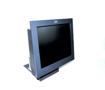 """IBM IBM 4840 All-in-One Point of Sale System 15 """"Touch Screen Monitor Screen + PC Kiosk Box"""