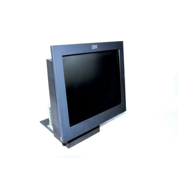"IBM IBM 4840 All-In-One Kassensystem 15"" Touchscreen Monitor Display + PC Kioskkasse"