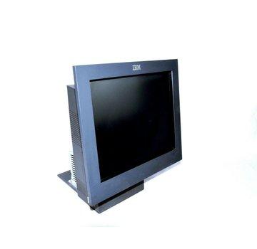 """IBM Sistema de punto de venta todo en uno IBM 4840 Pantalla de monitor de pantalla táctil de 15 """"+ Caja de PC Quiosco"""