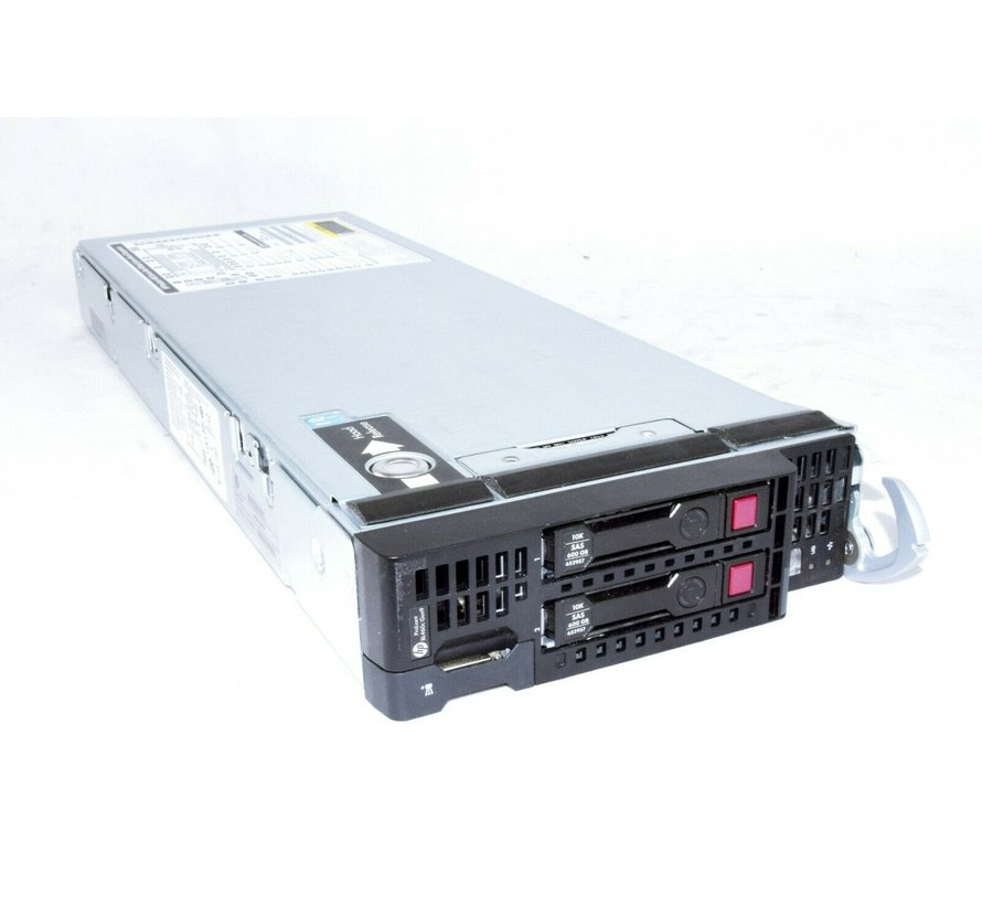 HP Blade Server ProLiant BL460c Gen9 2 x E5-2650 V3 1.2TB HDD 288GB DDR4 Ram