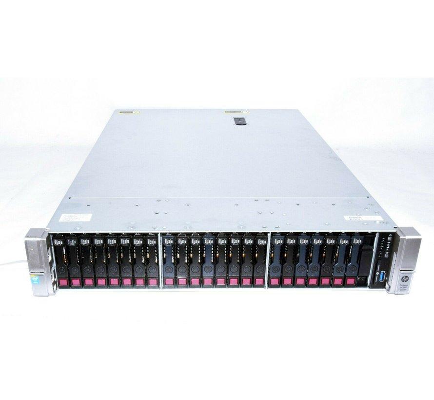 HP Server ProLiant DL380 Gen9 2x Xeon E5-2650 V3 128GB RAM 24TB HDD EX Card