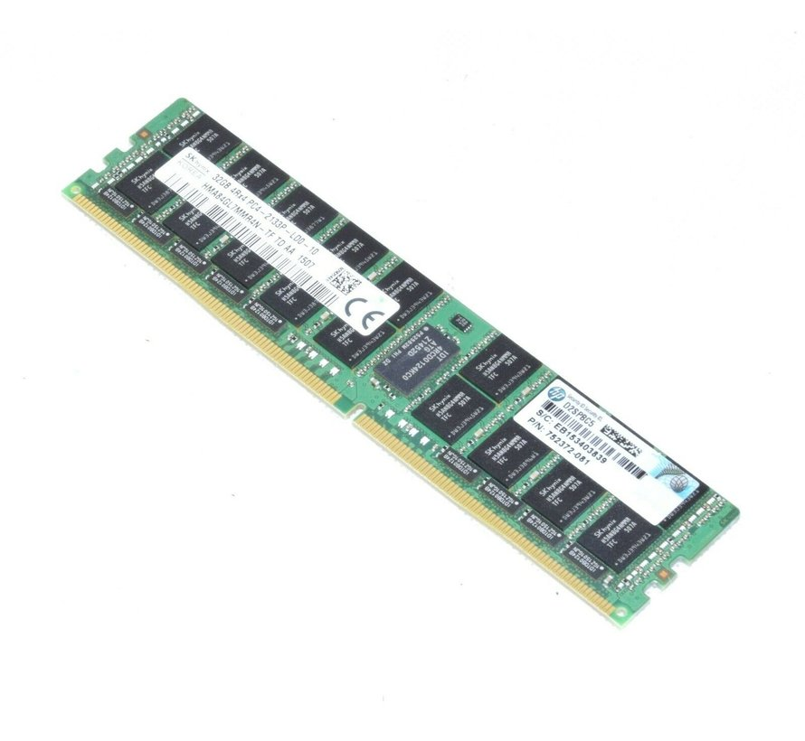 Hynix 32GB DDR4 2133MHz ECC LRDIMM HMA84GL7MMR4N-TF PC4 Server Workstation