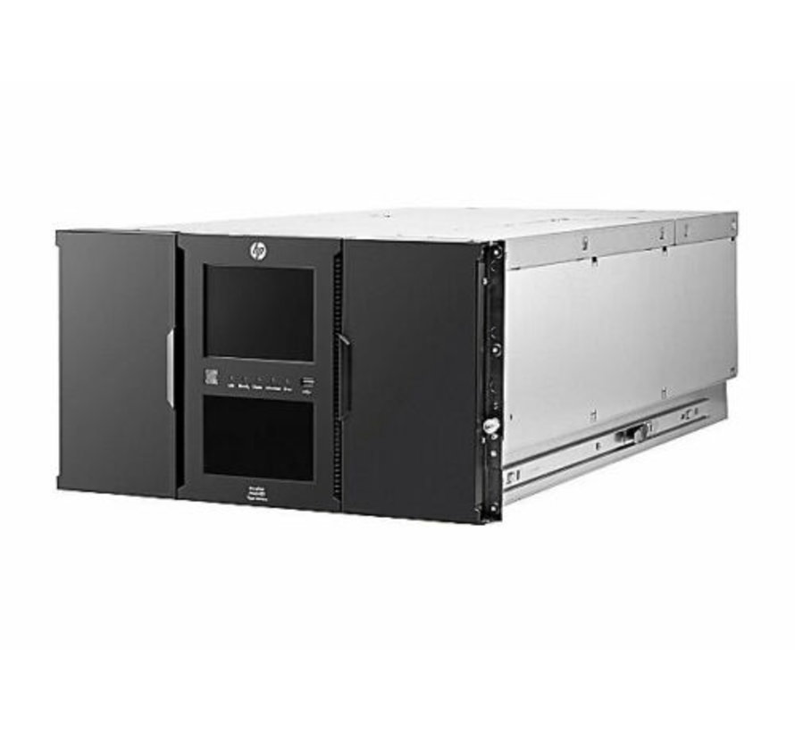 HP StoreEver MSL6480 Tape Library LTO 5 6 7 8 / 2x BL540B / 2x 723572-001
