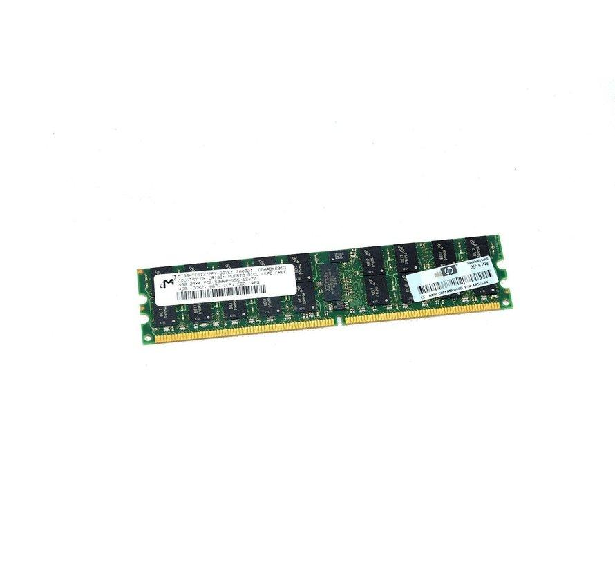 M MT36HTF51272PY-667E1 4GB 2Rx4 PC2-5300P-555-12-ZZ RAM