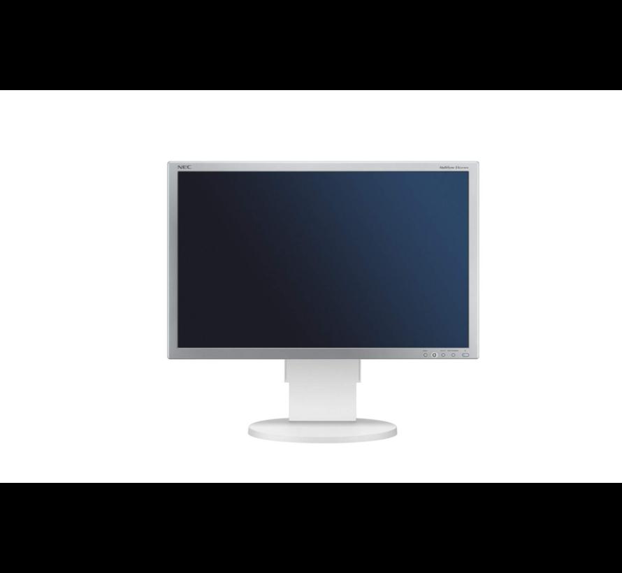NEC MultiSync EA241WM 61cm 24 Inch TFT LCD Monitor Display White