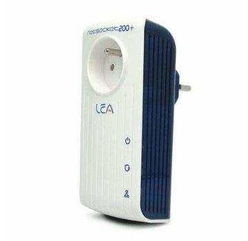 Lea Lea NetSocket 200+ Adaptador Powerline Adaptador de red de 200 Mbps