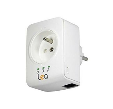 Lea Lea NetSocket 500 Mini Netzwerkadapter 500Mbps Powerline Adapter FR