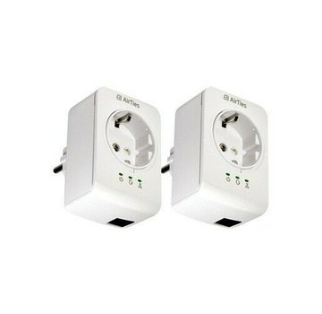 2 x AirTies Air 500 Powerline Adapter network adapter 500Mbps set