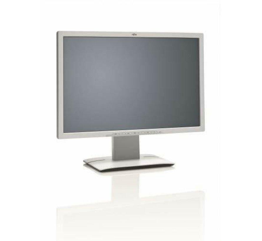 "Fujitsu 24 ""B24W-6 LED S26361-K1427-V140 Pantalla de monitor de 24 pulgadas amarillenta"