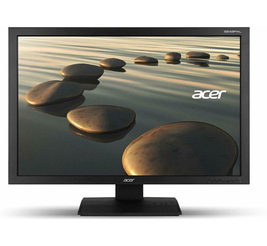 "Acer 24 ""pantalla B243PWL PC 60.96 cm 1920 x 1200 monitor de pantalla"