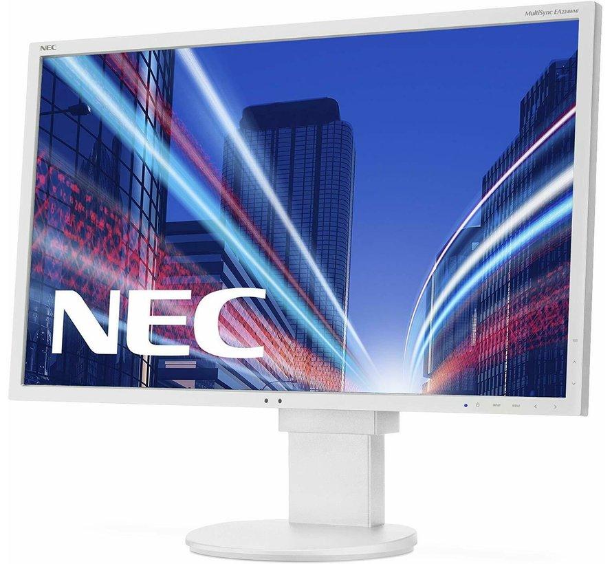 """NEC 22 """"EA224WMI monitor TFT de pantalla ancha de 55,9 cm y 22 pulgadas blanco"""