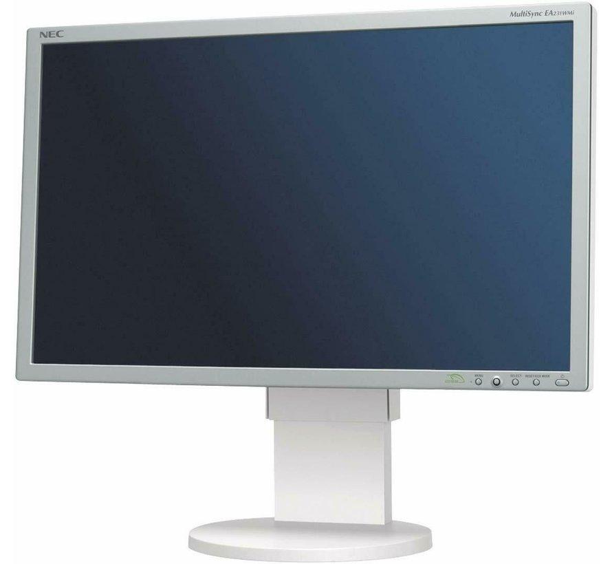NEC MultiSync EA231WMi Monitor TFT de 58.4 cm y 23 pulgadas blanco