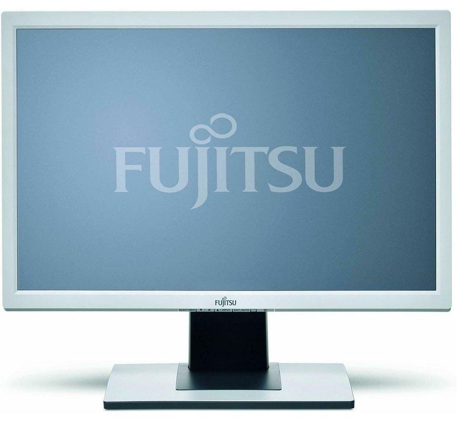 Fujitsu B24W-5 ECO Monitor de pantalla panorámica T24BA de 60,9 cm (24 pulgadas) blanco