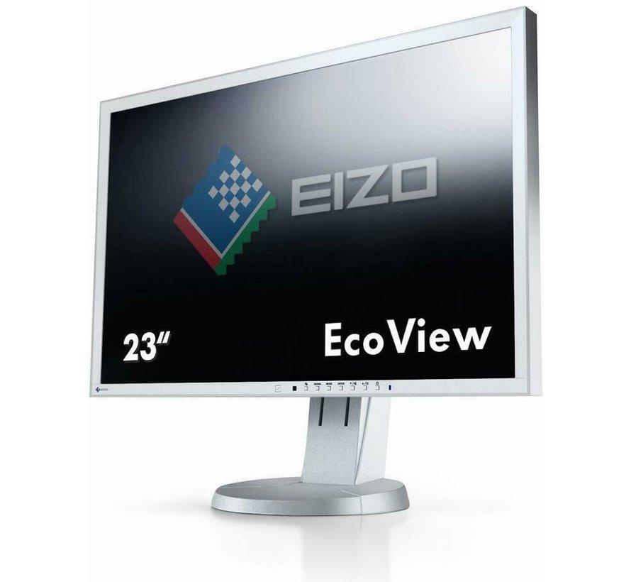 Eizo EV2336W 58,4 cm (23 Zoll) Widescreen TFT Monitor Display hellgrau