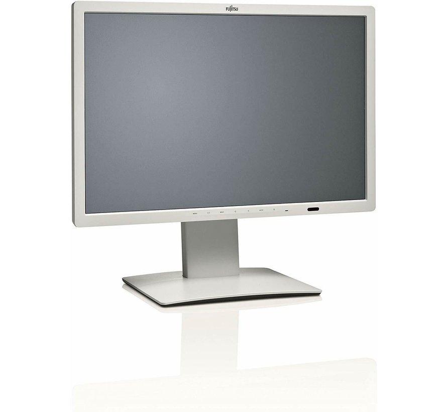 "FUJITSU Pantalla de 24 ""P24W-7 LED 60.96cm Pantalla de monitor UltraWide de 24 pulgadas blanca"