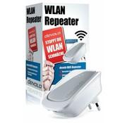 DEVOLO WiFi Repeater mit LAN-Port - WLAN Verstärker Externer WPS 300 Mbit/s
