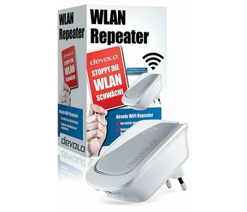 DEVOLO WiFi Repeater with LAN port - WiFi amplifier External WPS 300 Mbit / s