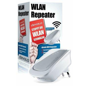 DEVOLO WiFi Repeater con puerto LAN - Amplificador WiFi Externo WPS 300 Mbit / s