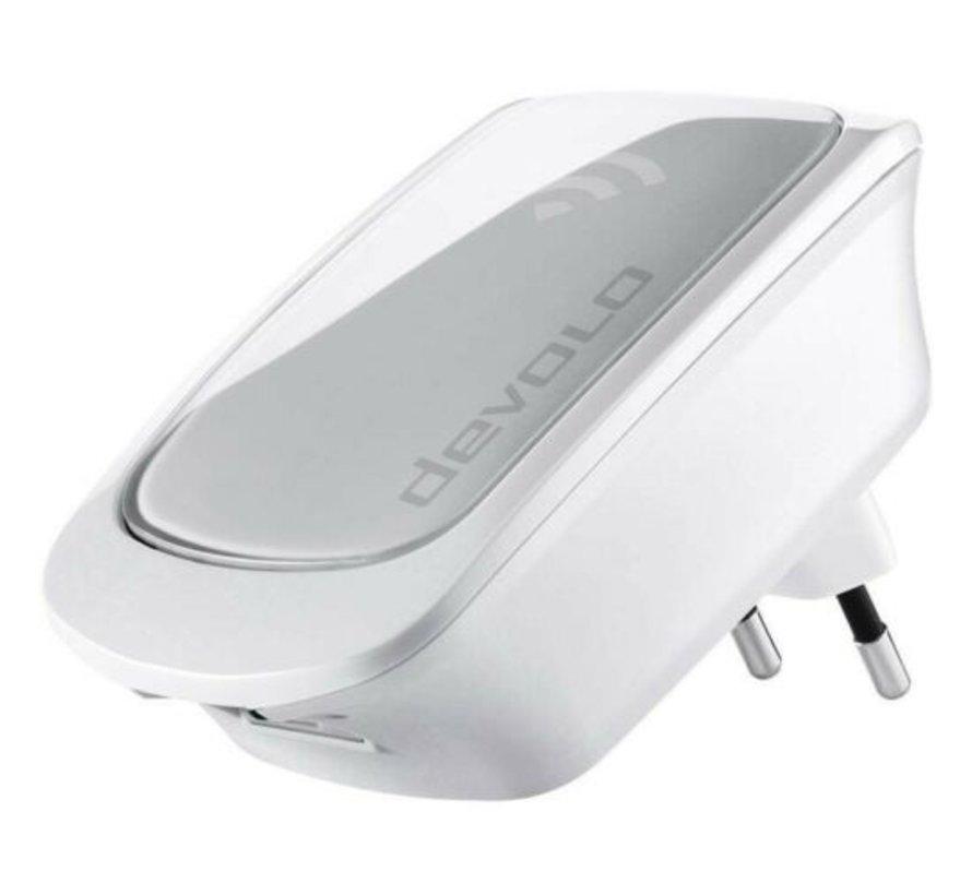 DEVOLO WiFi Repeater with LAN port - WiFi amplifier External WPS 300 Mbit / s