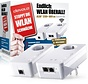 DEVOLO dLAN 1200+ WiFi ac Starter Kit Weiss Powerline WLAN 9390 LAN / WLAN