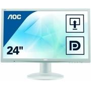 "AOC AOC 24"" 2460 61 cm 24 Zoll Monitor VGA DVI Monitor Display weiß"