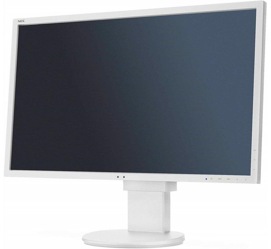 "NEC 24 ""EA244WMI monitor de pantalla panorámica TFT de 24 pulgadas blanco"