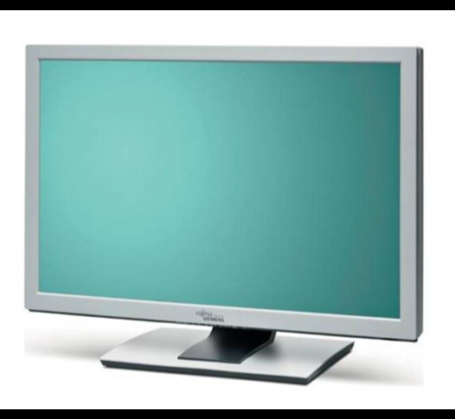"Fujitsu Siemens ScenicView A24W-3A monitor LCD-TFT 24 ""monitor display"