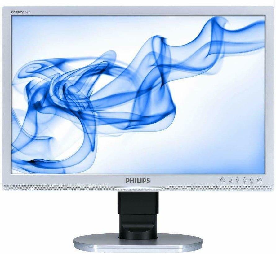 Philips 240B1CS / 00 61 cm 24 inch LCD monitor monitor display black / silver