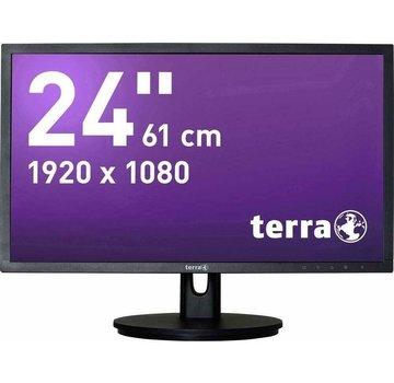 Terra Wortmann AG 2435WHA 24 Black Full HD Monitor Display black