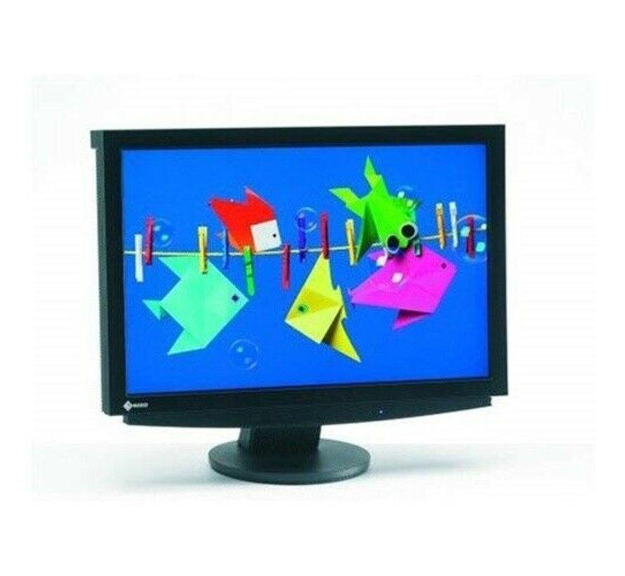 Eizo S2411W TFT LCD Monitor DVI Display 61 cm (24 Zoll) Bildschirm weiss