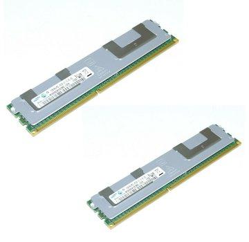Samsung Samsung 32GB (2x16GB) PC3-8500 RDIMM 4Rx4 DDR3 Server Ram M393B2K70CM0-CF8