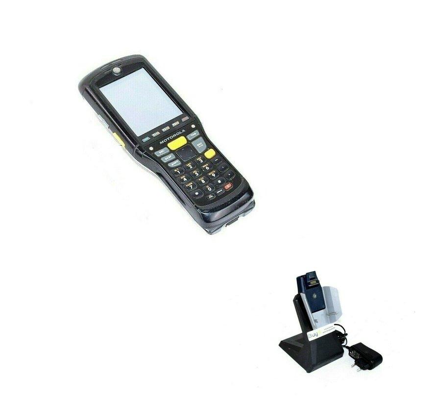 Lector de código de barras Motorola Zebra MC9596-KDAEAD00100 computadora móvil con cuna incluida