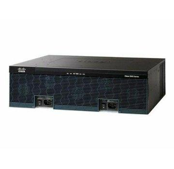 Cisco Enrutador de servicio CISCO 3925 3925 / K9 + C3900-SPE200 / K9 1x PSU / fuente de alimentación