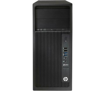 HP HP Z240 Workstation PC Xeon E3-1270 v5 32GB RAM Nvidia Quadro K2200