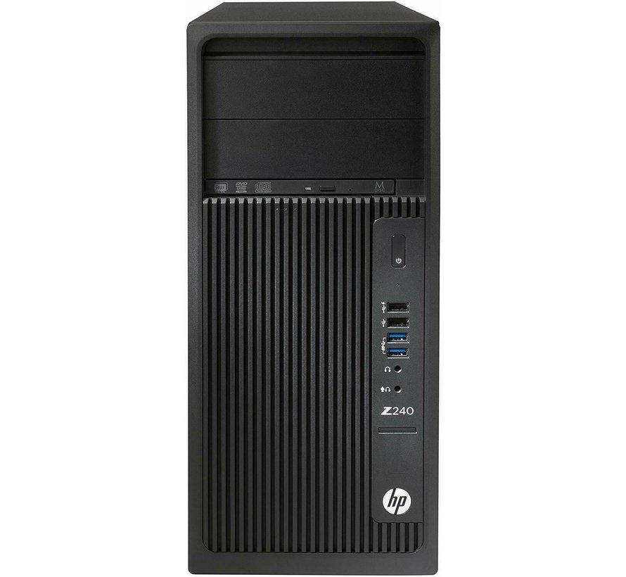 HP Z240 Workstation PC Xeon E3-1270 v5 32GB RAM Nvidia Quadro K2200
